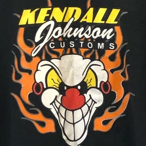 Kendal Johnson Customs Killer 2XL T-Shirts Bikers